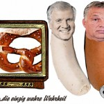 Seehofer und Orpan best buddies am rechten Rand